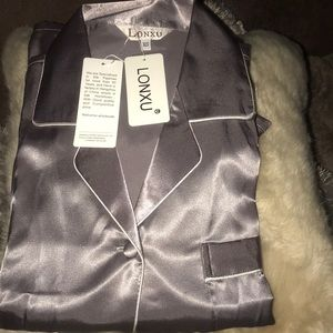 Other - Lon lux  satin pajamas. Brand new with tags